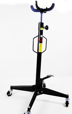 Vertical Telescopic Car Transmission Jack 500kg Hydraulic Motor Gearbox Lift