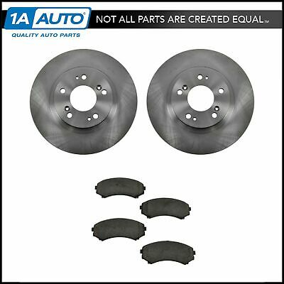 Nakamoto Front Posi Ceramic Brake Pad & Rotor Set Kit for Mitsubishi Endeavor