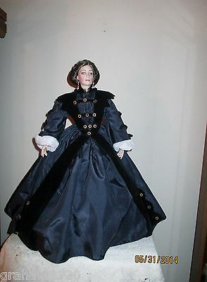 Gone With the Wind ~ ELLEN O'HARA Doll ~ From The Franklin Mint ~ 1994
