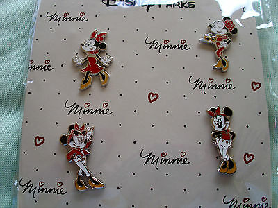 Disney * MINNIE * 4 pin BOOSTER Set - New In Package