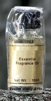 Nag Champa Essential Fragrance India Scented Incense Oil 10ml Gold Label New Age