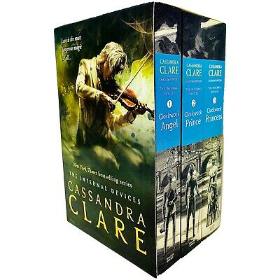 Cassandra Clare The Infernal Devices 3 Books Collection Pack Set