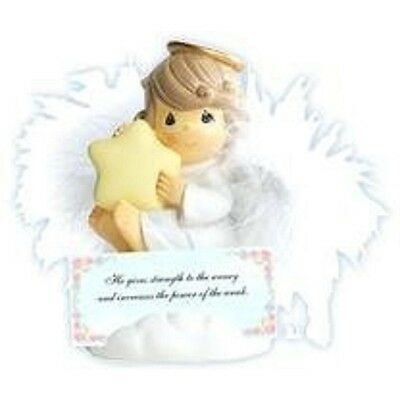Precious Moments Angels with Cards Porcelain Figurine