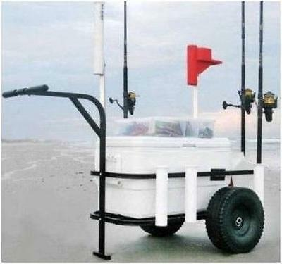 Sea Striker BRSC-DLX Beach Runner Pier Beach Cart 17214
