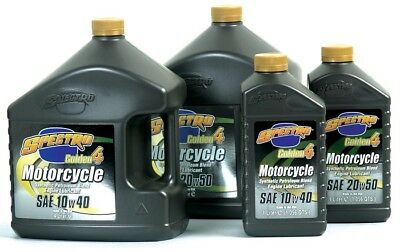 Spectro Golden-4 Semi-Synthetic Motorcycle Engine Oil 20W40 1 Liter