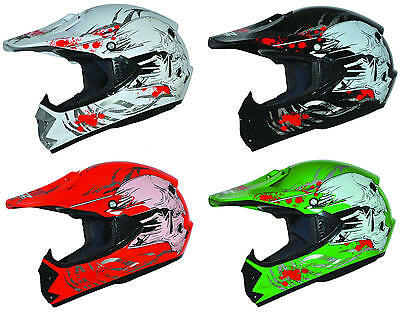 B-Ware Kinderhelm Crosshelm Motorradhelm Quadhelm Kinder Cross BMX Enduro Helm