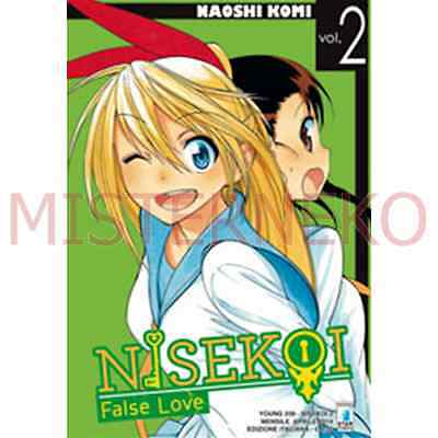 Manga - Nisekoi - False Love 2 - Star Comics