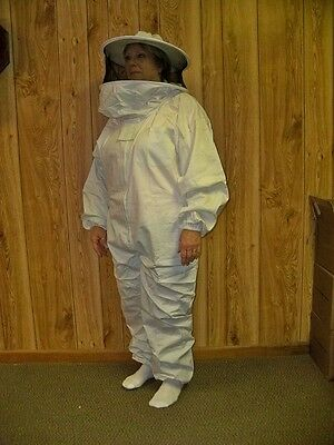 BZ30-3XL Size 3X-Large Great for Bee Keeping Tyvek Coveralls
