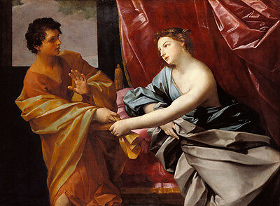Dream-art Oil painting Salome Guido Reni - Joseph and Potiphar's Wife on canvas