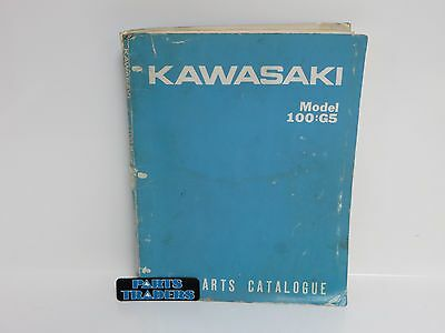 OEM Kawasaki Parts Diagram & List Catalog Manual 100 G5 100G5 1972