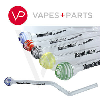 New Vapolution Vaporizer Glass All-in-Wonder Bowl Replacement Mouthpiece Stem