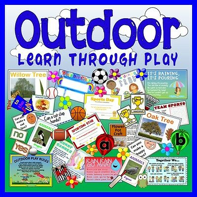 Cd Outdoor Play Learning Teaching Resources Early Years Key Stage 1-2 Literacy
