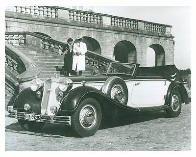 1939 Audi Horch 853 Sport Convertible Automobile Photo Poster zch5530