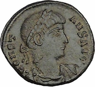 CONSTANS  Constantine the Great son Ancient Roman Coin Glory of army  i40581