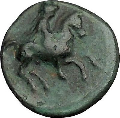 KRANNON in THESSALY 400BC  Authentic Rare Ancient Greek Coin Bull Horse  i40612