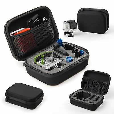 Shockproof Protective Storage Carry Case Bag for GoPro Hero 4 3+ 3 2 Accessories