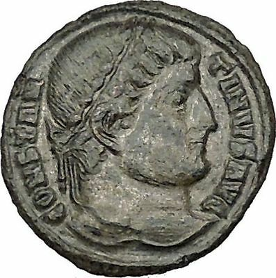 Constantine I the Great  326AD Ancient Roman Coin Military camp gate  i40648
