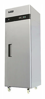 Migali C-1R Commercial Kitchen Solid One (1) Door Reach-In Refrigerator New