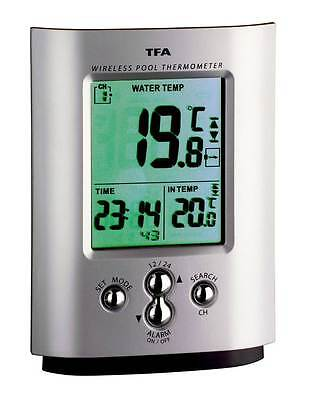 Schwimmbadthermometer Miami Wetterladen Tfa 30.3033.99 Pool-Teich-Thermometer