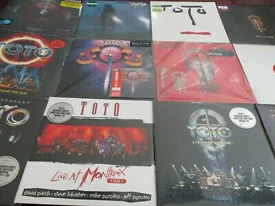 "Toto S/t & Iv  Analog S 180 Gram Lps+Replica  Japan Cds + Toto Vix + 12"" Single"