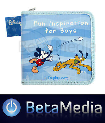 Disney Mickey Mouse & friends 4 - CD / DVD Storage Wallet Case - Holds 24 discs
