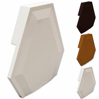 Wendland Roof Spar Rafter End, UPVC Conservatory Plastic Glazing Bar Cap RS3480