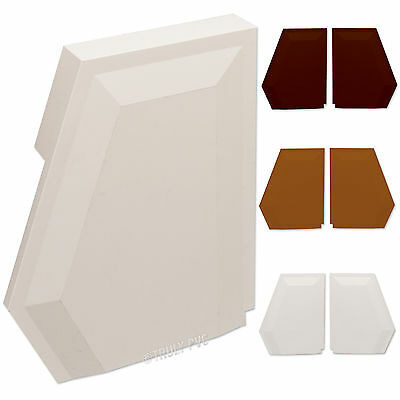 Wendland Roof Spar End, UPVC Conservatory Plastic Glazing Bar Cap RS3444 RS3445