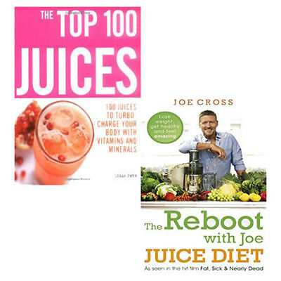 Juice Diet Lose Weight get healthy Collection 2 Books Set