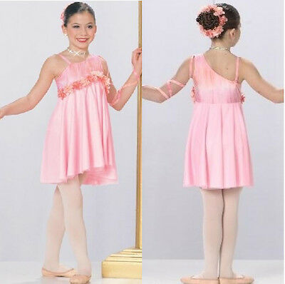 Dance Costume TIME TO DREAM  Lyrical Ballet Dress Child Small New Competition