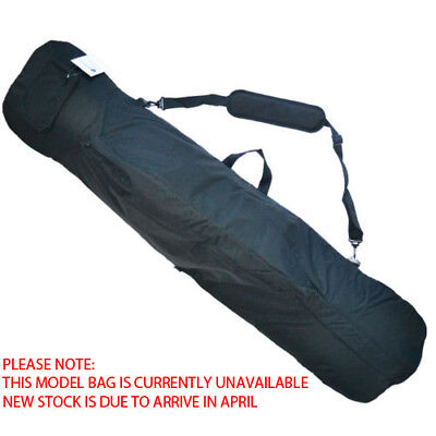 Snowboard Bag Padded 168cm - Fits Boots & Bindings - Quality Design Black Colour