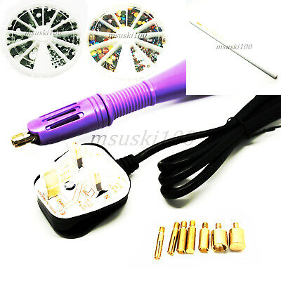 Hotfix Transfer Rhinestone Crystal Diamante Bling Tool Wand Applicator Pen Sets