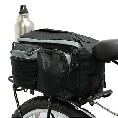 Pedalpro Bicycle Rear Rack Pack Tail Top Bag Seat Storage Bike/cycle Commuter