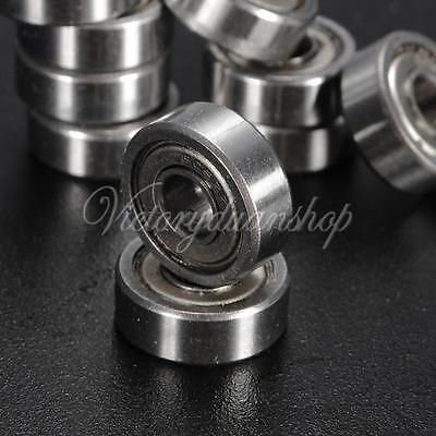 10pcs 5x14x5mm Miniature Metal Shielded Sealed Metric Radial Ball Bearing 605-ZZ