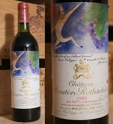 1982er Chateau Mouton Rothschild - Top Jahrgang *****
