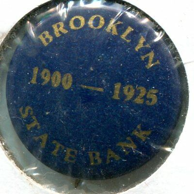 Brooklyn State Bank 1900-1925 Button