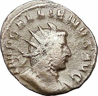 Gallienus Valerian I son Authentic Ancient Roman Coin  Victory Cult   i40794