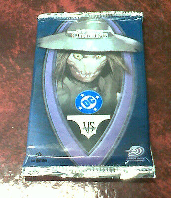 DC VS SYSTEM 1st Edition Batman Scarecrow Origins trading cards game booster pk