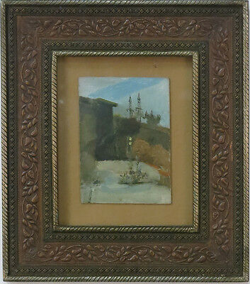 NICE ORIGINAL 20th CENTURY IMPRESSIONISTIC RUSSIAN ARTIST OIL PAINTING V Shmevov