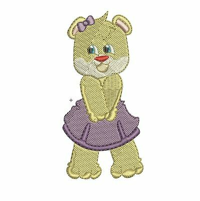 Bears - 10 Machine Embroidery Designs - 3 Sizes - Impcd81
