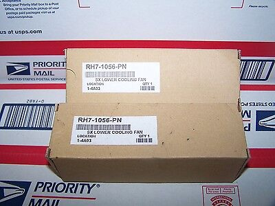 HP SX Lower Cooling Fan M# RH7-1056-PN ~NIB NEW SURPLUS~ Qty. x 2