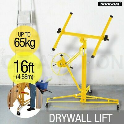 Shogun 16ft 65KG Gyprock Drywall Panel Lifter Plaster Board Lift Plasterboard