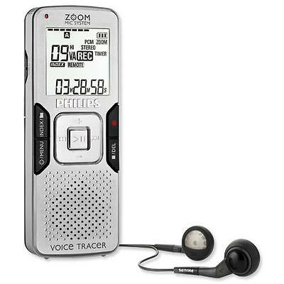 Philips LFH0884 Professional 8GB DIGITAL ZOOM Voice Recorder Dictaphone Machine