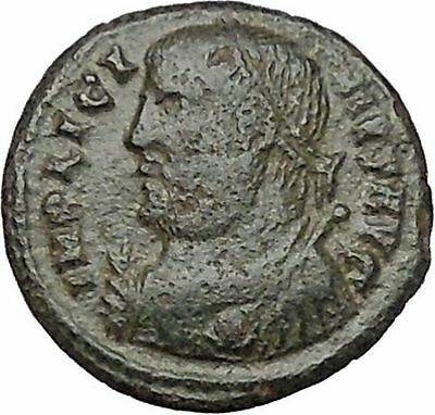 LICINIUS I Constantine the Great enemy Ancient Roman Coin Jupiter Cult  i40917
