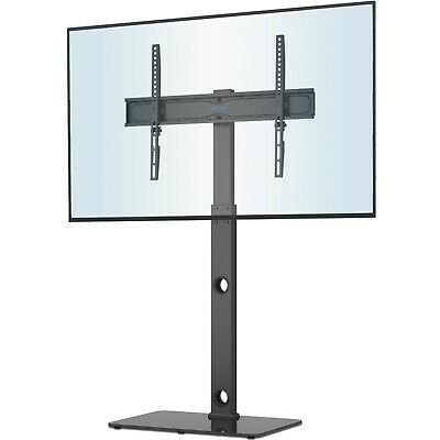 Glass TV Stand with Bracket 2 Shelves for 27 to 55 inches Plasma LCD LED 3D TV