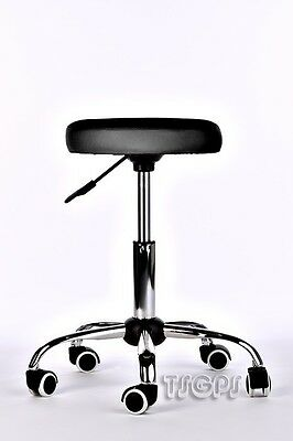 Massage Beauty Therapy Gas Stool Height Adjustable - BLACK