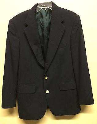 Ralph Lauren Polo University Club Virgin Wool Suit Blazer Coat Mens Navy Medium