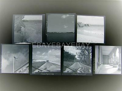 1949 Bermuda Vintage Old 7 Photo Negative Lot 547E