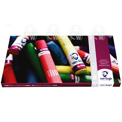 Van Gogh 60 Colour Oil Pastel Artists Box Set. Assorted Colour Oil Pastels