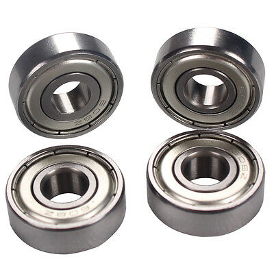 4pcs 608ZZ Bearing 608Z Deep Groove Ball Bearing 8mm*22mm*7mm 608Z Ball Bearing