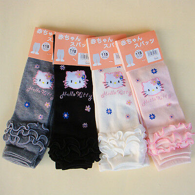 Girls Kids Baby Children Warm Hello Kitty Dance Stockings Leggings Pants